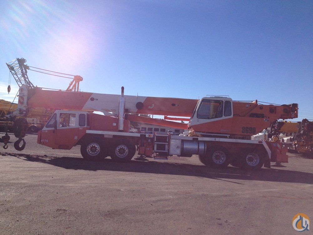 2005 Link-Belt HTC8690 Hydraulic Truck Crane for Sale on CraneNetwork.com