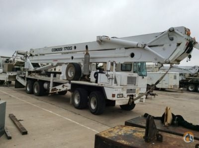 Sold 2002 Condor 170S Crane for  in Villa Rica Georgia on CraneNetworkcom