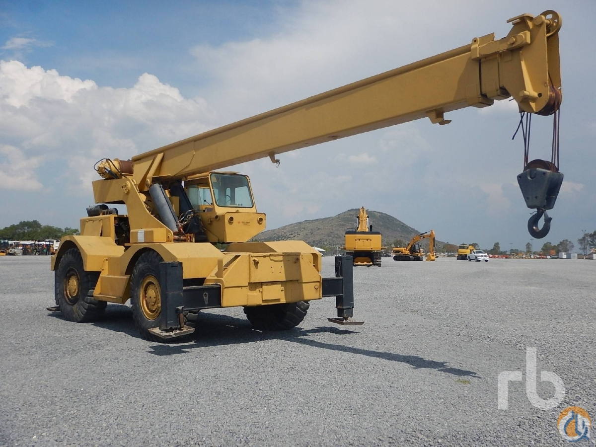 Sold 1971 GROVE RT63S Crane for  in Polotitln de la Ilustracin State of Mexico on CraneNetworkcom