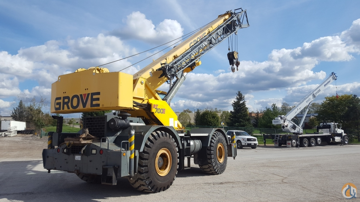 Grove RT700E Crane for Sale in Solon Ohio on CraneNetwork.com