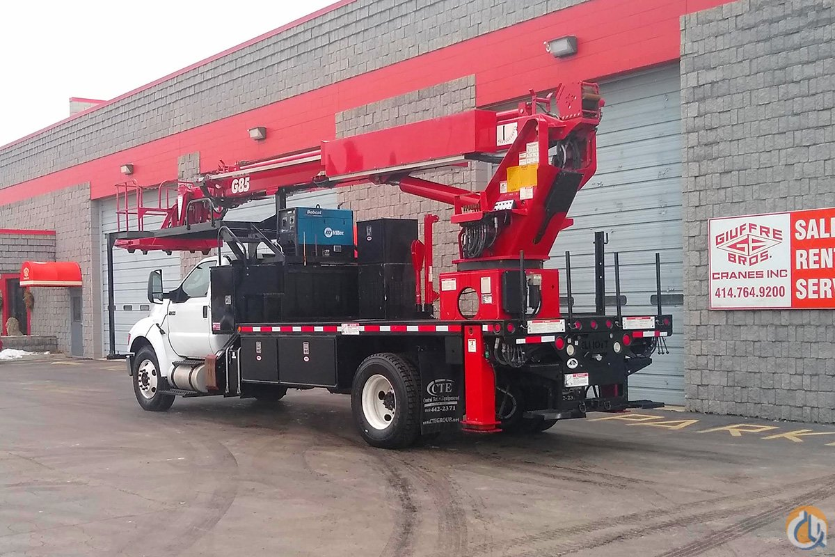 Sold USED ELLIOTT G85R Crane for  in Milwaukee Wisconsin on CraneNetwork.com