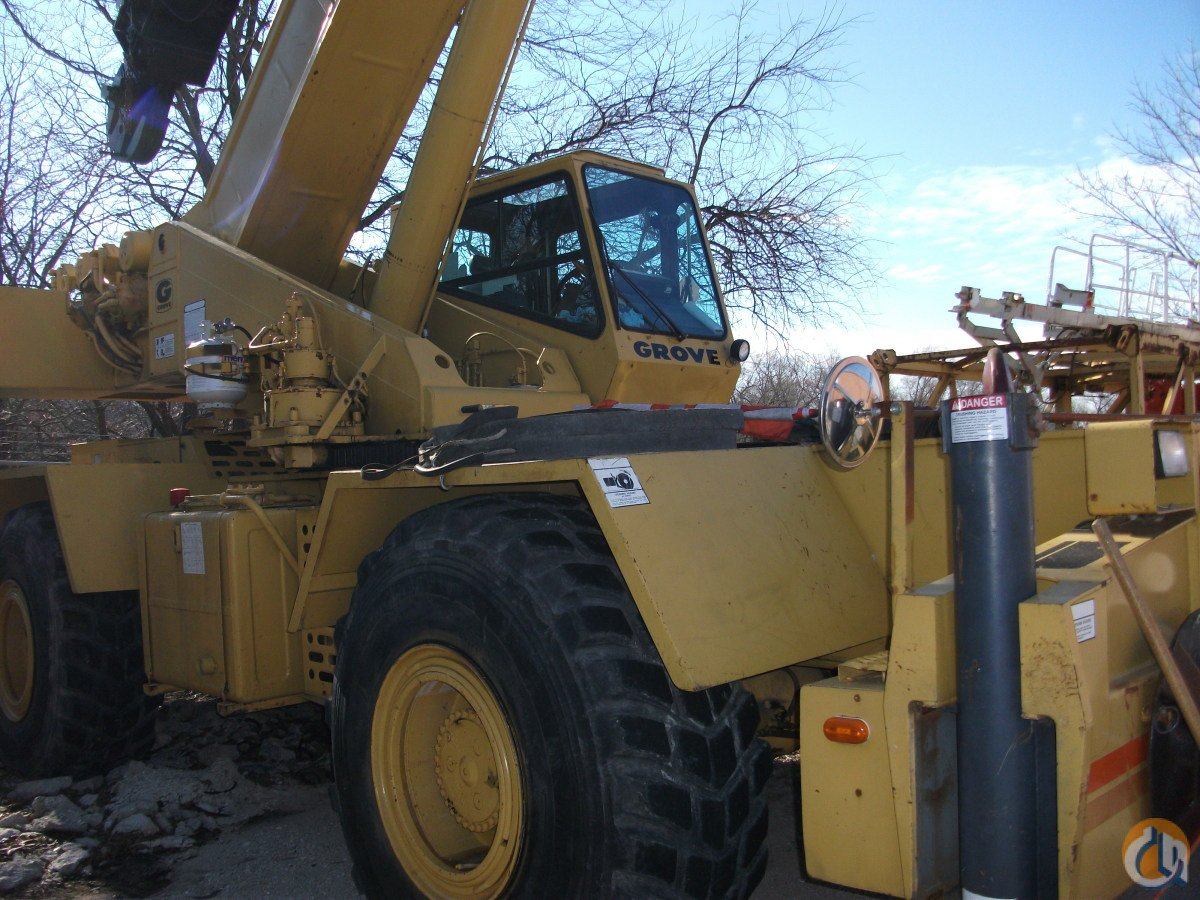 1990 Grove RT740B Crane for Sale or Rent in Fisher Illinois on CraneNetwork.com