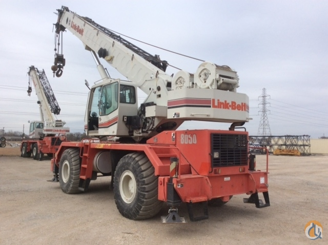 2008 Link-Belt RTC8050 II Crane for Sale in San Antonio Texas on CraneNetwork.com