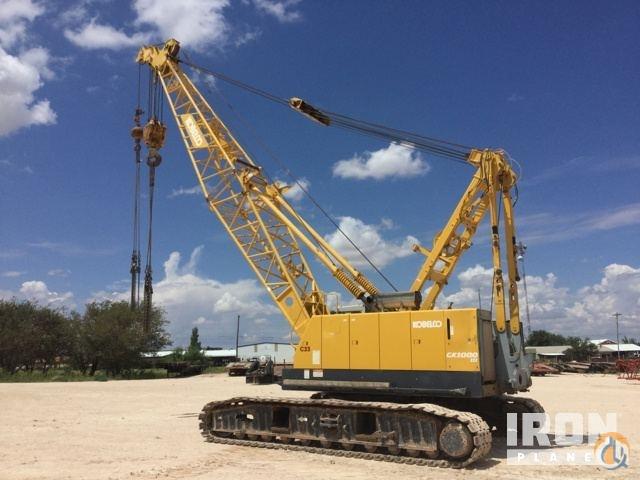 Sold 2009 Kobelco CK1000 III Lattice-Boom Crawler Crane Crane for in
