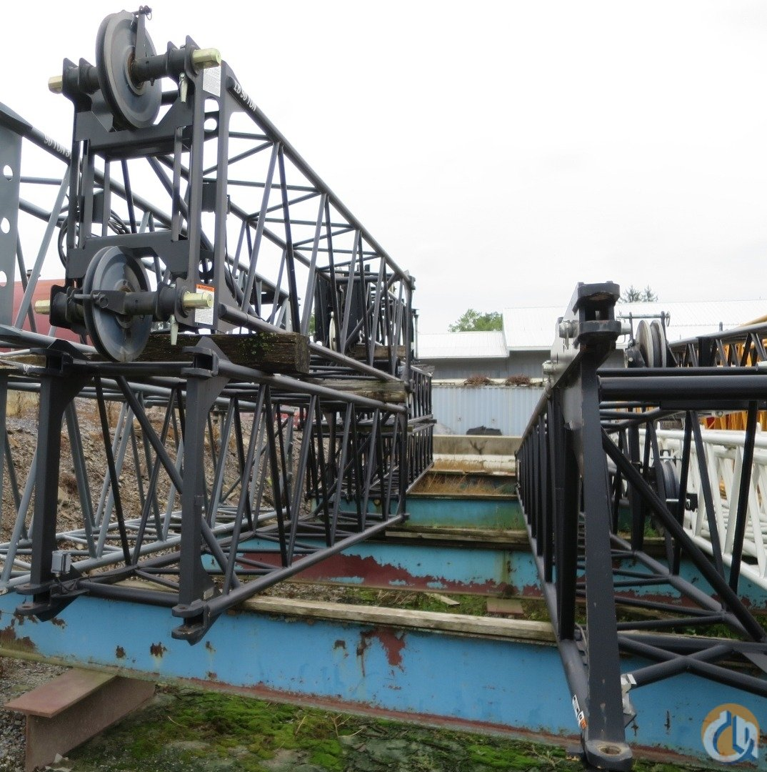 LINK BELT HTC8690 140 BOOM PLUS 58 JIB PLUS TWO JIB EXTENSIONS Crane for Sale on CraneNetwork.com