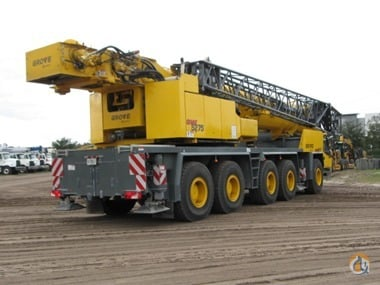 2013 GROVE CRANES GMK5275 Crane for Sale in St Augustine Florida on CraneNetworkcom
