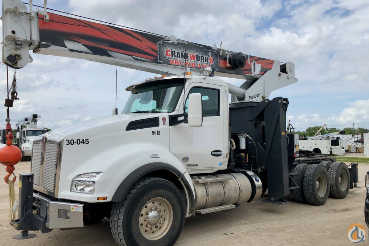 Used Manitex 3051T boom truck on 2019 Kenworth T880 chassis Crane for Sale or Rent in Houston Texas on CraneNetwork.com