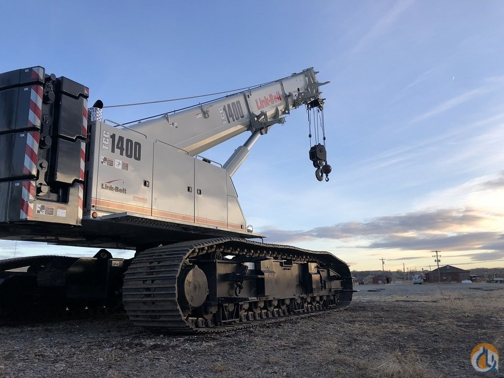 2018 Link-Belt TCC-1400 Telescopic Boom Crawler Crane for Sale on CraneNetwork.com