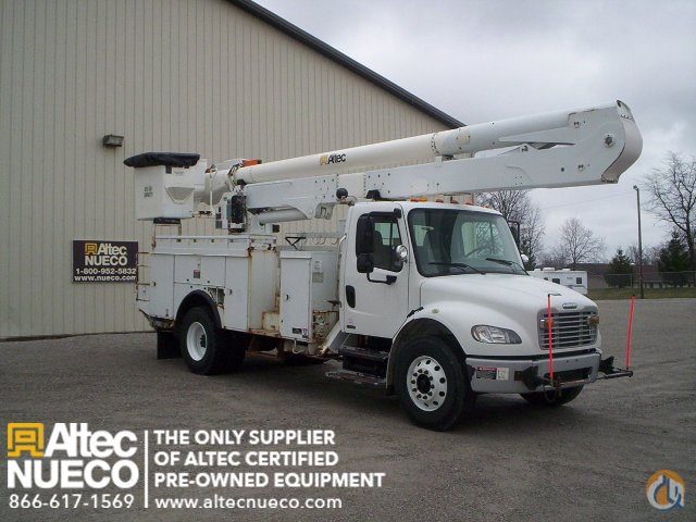 2009 ALTEC AA55-MH Crane for Sale in Fort Wayne Indiana on CraneNetworkcom