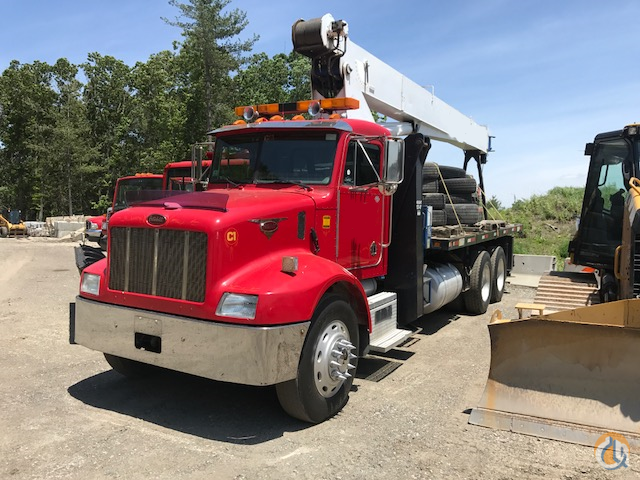 Sold 1997 Manitex 2592 Mounted on a Peterbilt Crane for  in Billerica Massachusetts on CraneNetwork.com