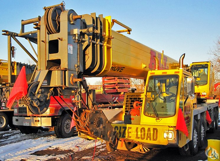 Grove TMS800E For Sale Crane for Sale in Milwaukee Wisconsin on CraneNetwork.com