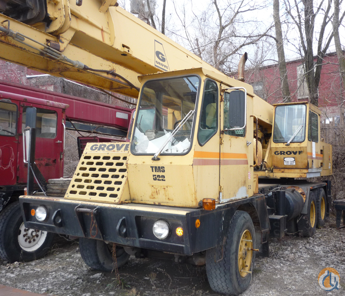 1981 Grove TMS522 Crane for Sale or Rent in Dayton Ohio on CraneNetwork.com