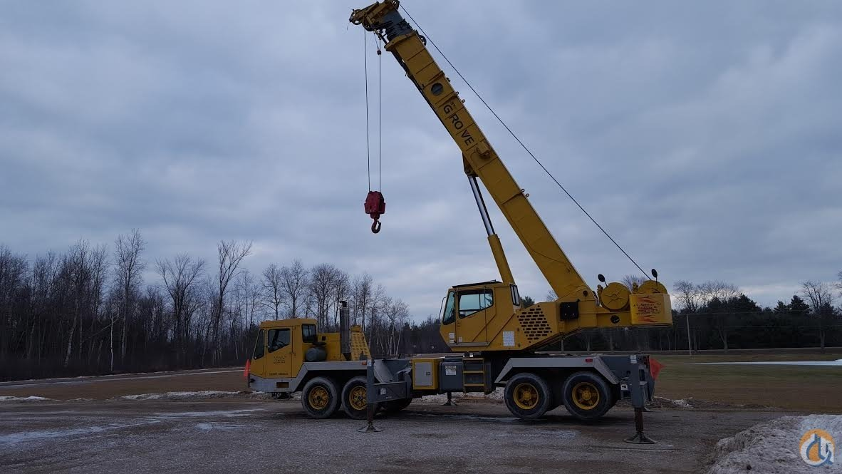 1998 GROVE TMS 640 Crane for Sale on CraneNetwork.com