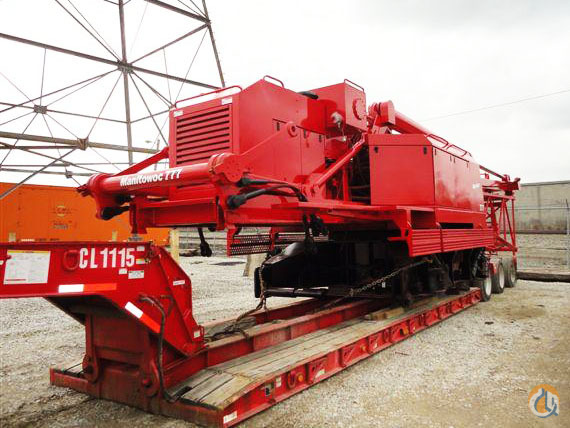 Manitowoc 777 For Sale Crane for Sale in Mississauga Ontario on CraneNetworkcom