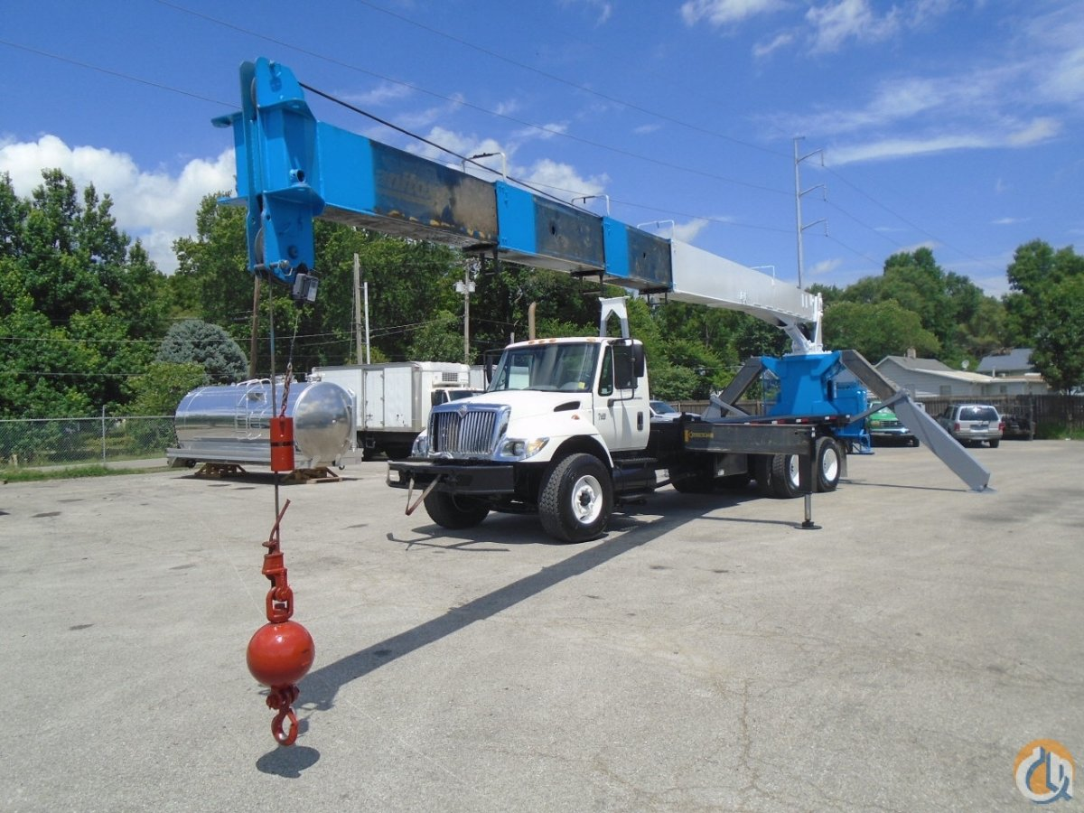2007 Manitex-International 124WL Boom Truck Crane for Sale on CraneNetwork.com