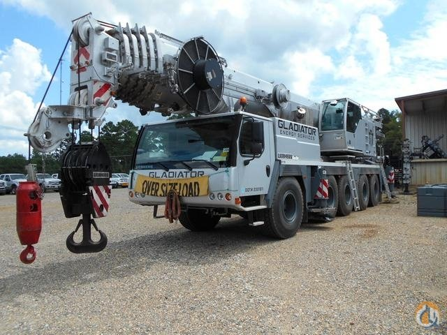 2014 Leibherr LTM1130-51 130Ton Crane 0179 Crane for Sale in Shreveport Louisiana on CraneNetworkcom