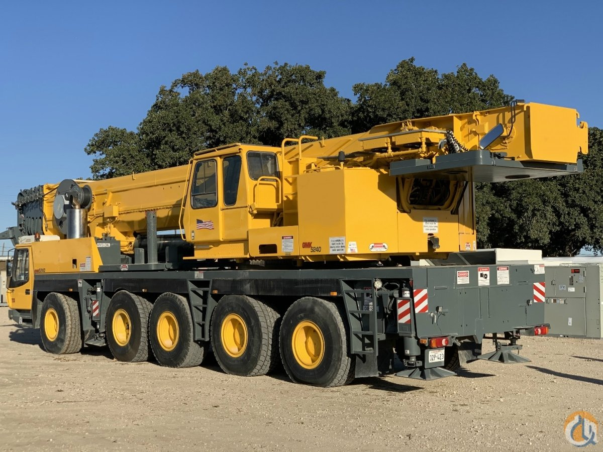 2005 GROVE GMK5240 ALL TERRAIN CRANE Crane for Sale in Dallas Texas on CraneNetwork.com