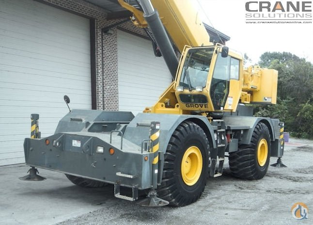 2011 Grove RT-760E 60-Ton Rough Terrain Crane for Sale in Savannah Georgia on CraneNetwork.com