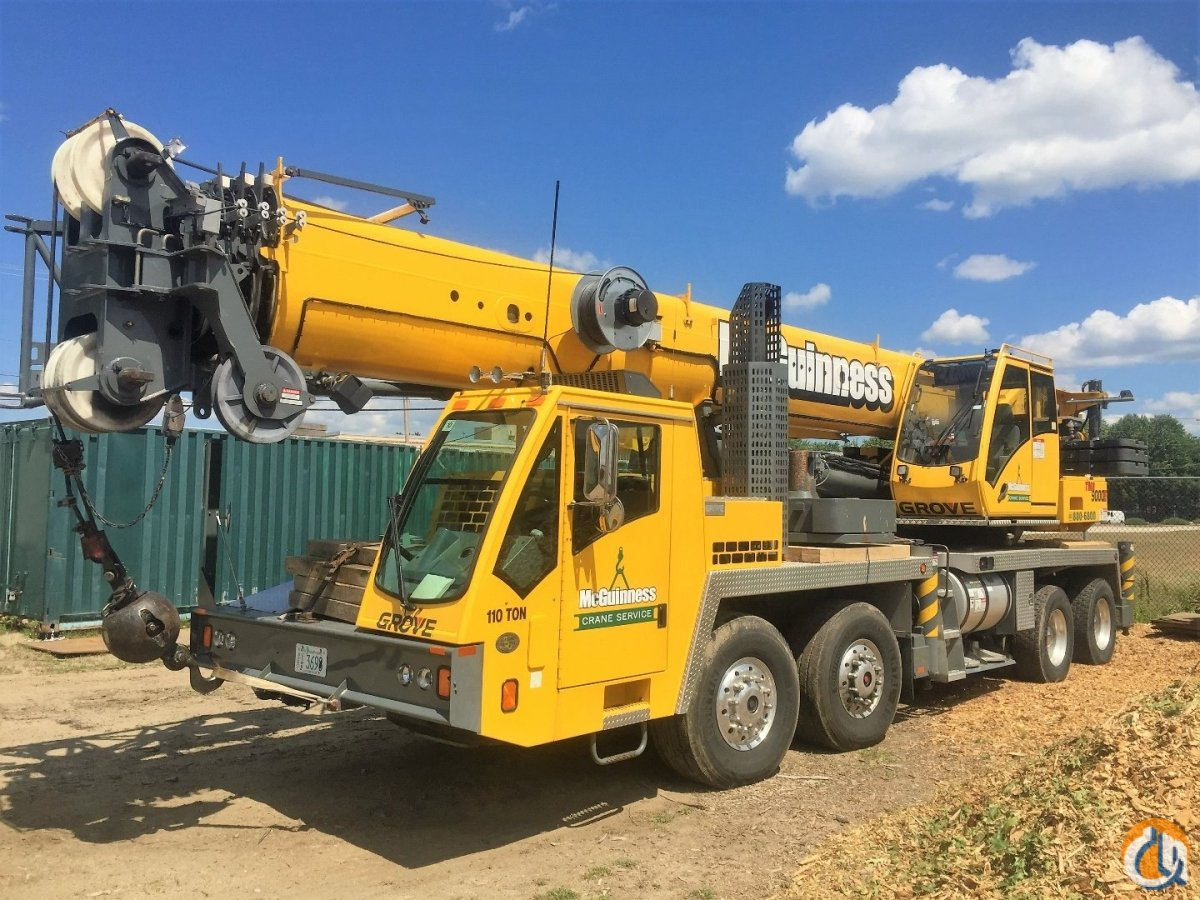 2009 Grove TMS9000E Crane for Sale on CraneNetwork.com