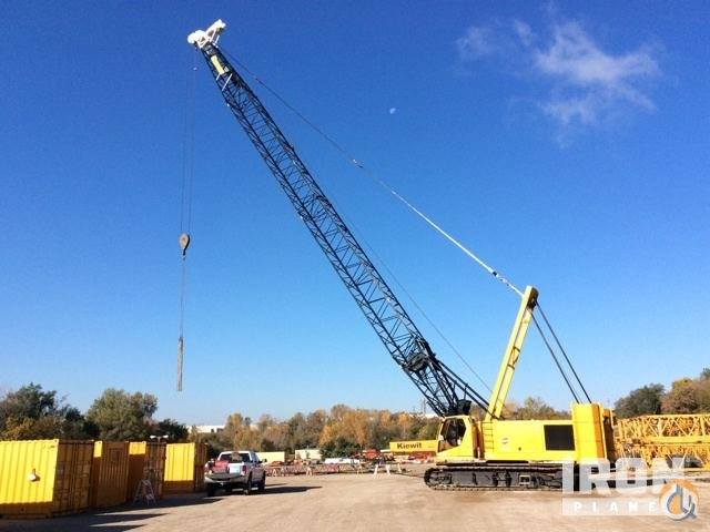 Sold 2002 Manitowoc 555 Lattice-Boom Crawler Crane Crane for  in Omaha Nebraska on CraneNetwork.com