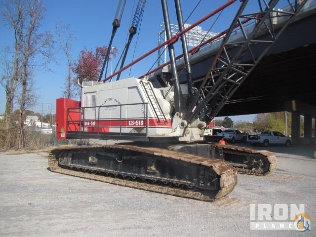 Sold 1977 Link-Belt LS-518 Lattice-Boom Crawler Crane Crane for  in Portsmouth Virginia on CraneNetworkcom