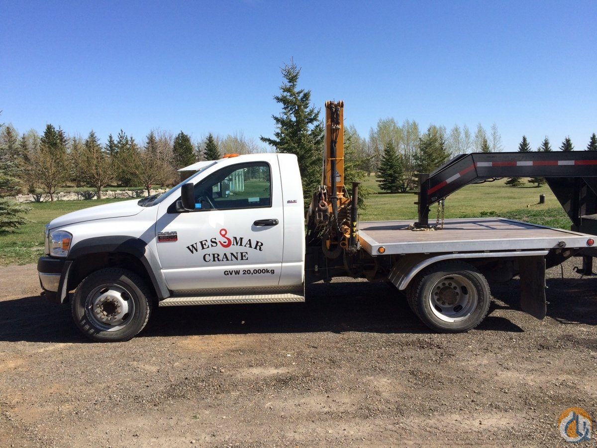 2012 Effer 45/4S Crane for Sale in Calgary Alberta on CraneNetwork com