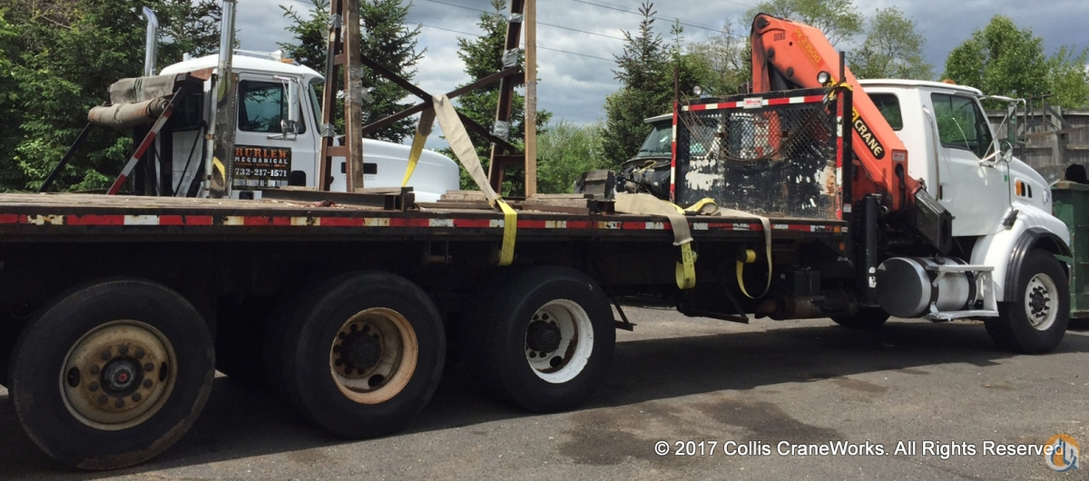 Sold Used Palfinger PK 23500A Performance knuckle boom mounted to 2007 Sterling chassis Crane for  in Branchburg New Jersey on CraneNetwork.com