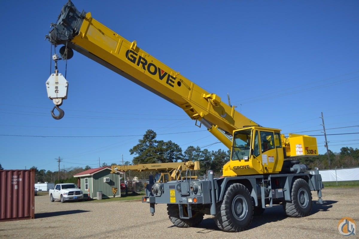 Sold GROVE RT530E-2 30 TON CAP CRANE Crane for in ...