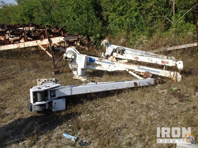 Sold Lot of 4 Truck Mounted Booms Crane for  in North Bend Ohio on CraneNetwork.com