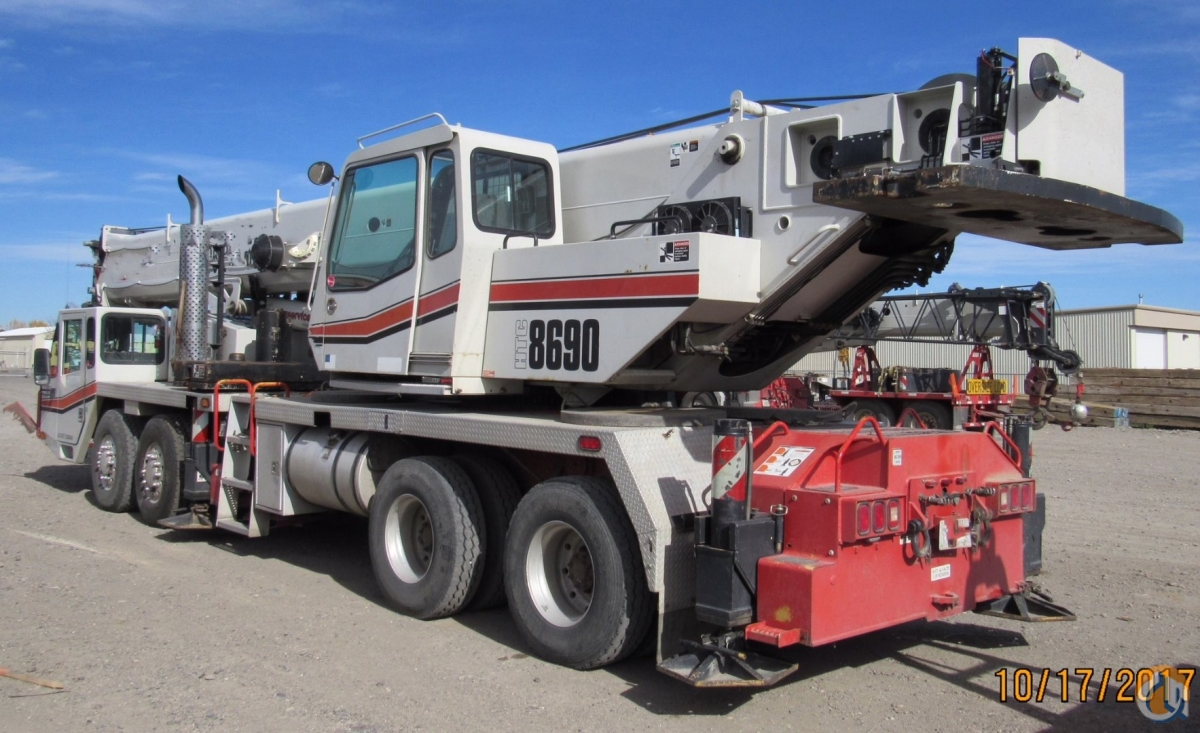 link belt htc 8690 crane for sale on cranenetwork com rh cranenetwork com Link Belt Pillow Block Bearings Link Belt Parts