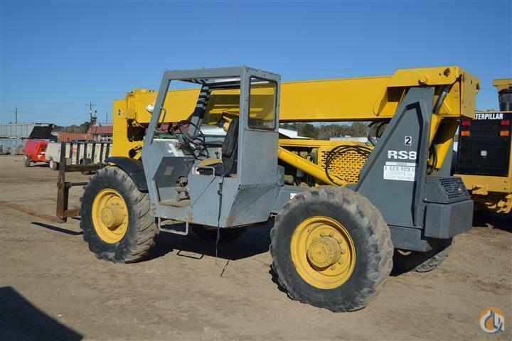 Sold GEHL RS8-42 8000LB CAP TELEHANDLER Crane for in