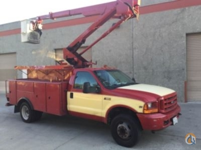 Sold 2001 Hi-Ranger TL38-p Crane for  in Villa Rica Georgia on CraneNetworkcom