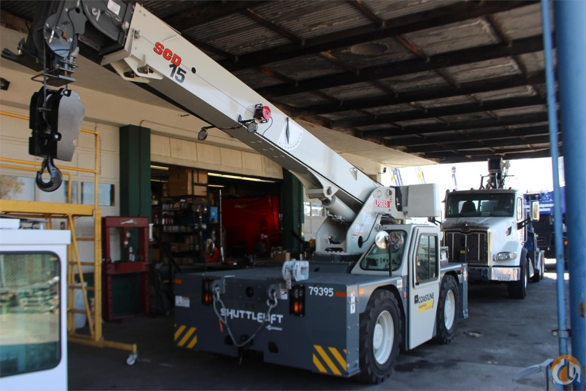 2018 SHUTTLELIFT SCD15 Crane for Sale or Rent in Santa Ana California on CraneNetwork.com