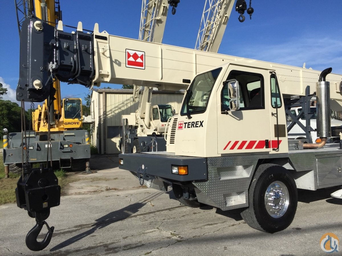 2007 TEREX T340-XL 40 ton availabile in Florida Crane for Sale in Fort  Pierce Florida ...