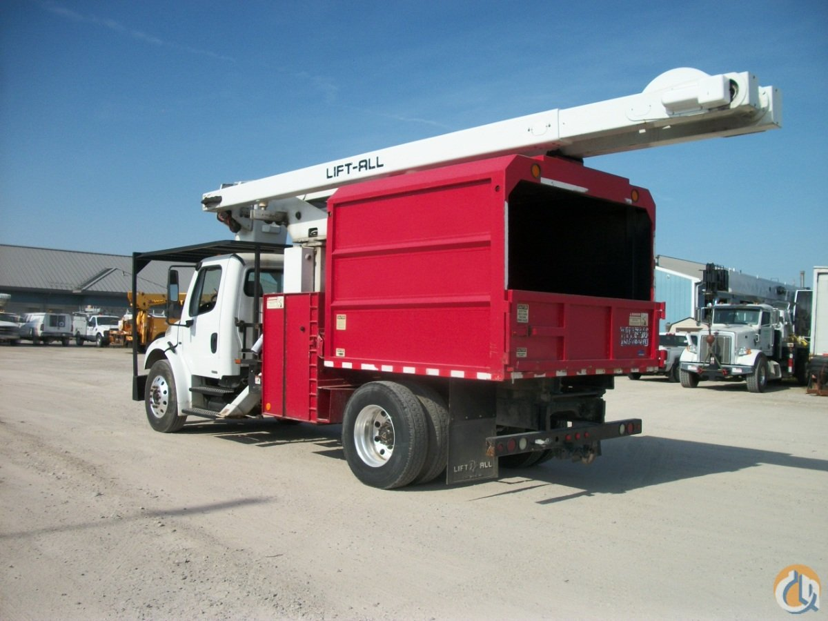 2008 Freightliner Forestry Bucket Truck with Lift-All Crane
