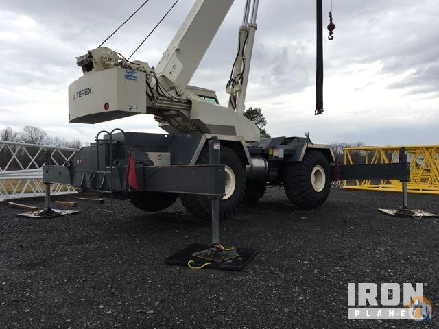 sold terex rt175 rough terrain crane crane for in syracuse new york rh cranenetwork com Terex RT1120 Terex Crane RT 555 Specs