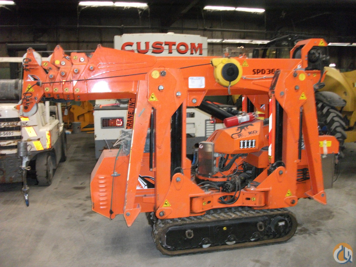 Jekko mini crane Crane for Sale or Rent in Fisher Illinois on CraneNetwork.com