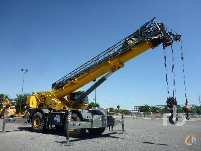 Sold 2005 GROVE RT890E 90 Ton 4x4 Rough Terrain Crane Crane for  in Houston Texas on CraneNetworkcom