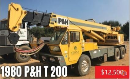 1980 PH T-200 Crane for Sale on CraneNetwork.com