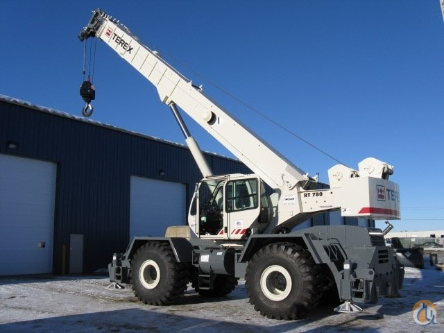 Terex RT780 Rough Terrain Cranes Crane for Sale or Rent in Leduc Alberta on CraneNetworkcom