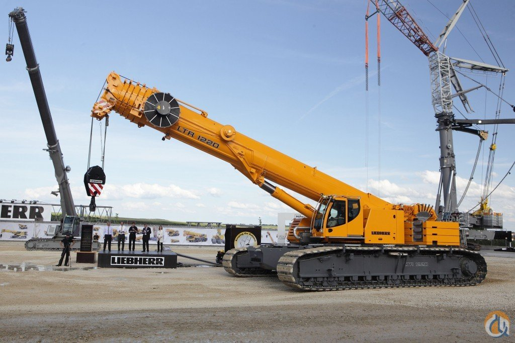 2017 LTR 1220 Telescopic Crawler Crane for Sale or Rent in Houston Texas on CraneNetworkcom