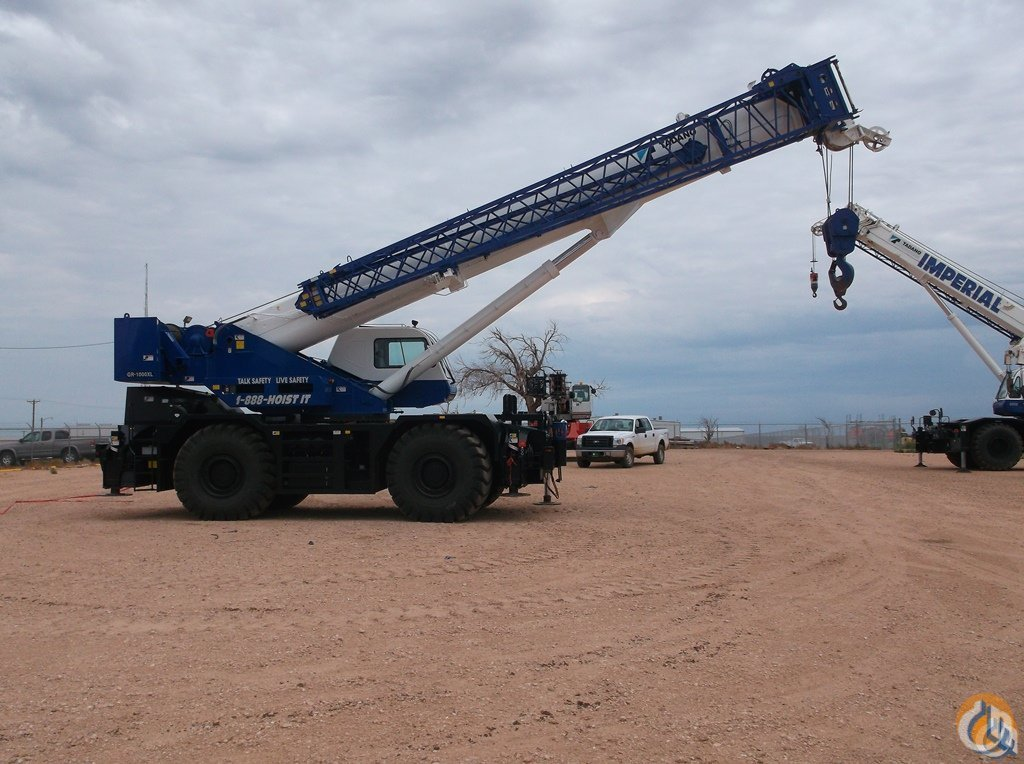 2012 Tadano GR1000XL-2 Crane for Sale or Rent in Chicago Illinois on CraneNetwork.com