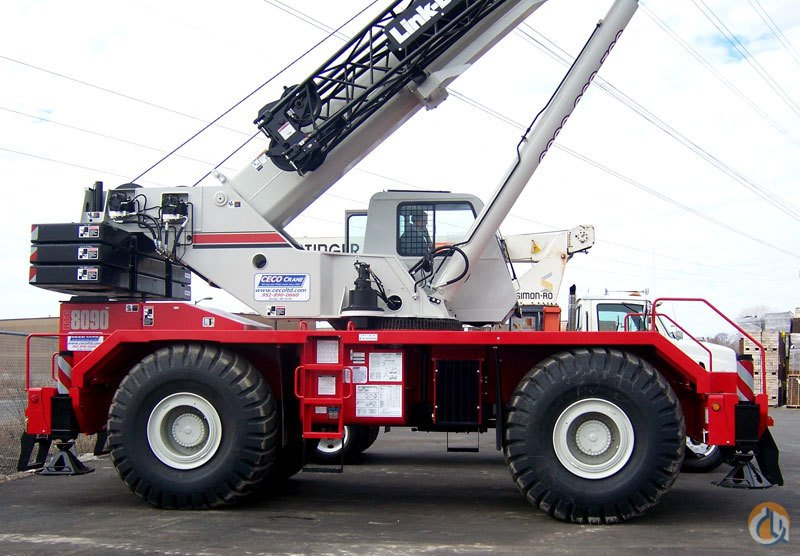 Link Belt RTC 8090 90 ton Crane for Sale or Rent in Savage Minnesota on CraneNetwork.com