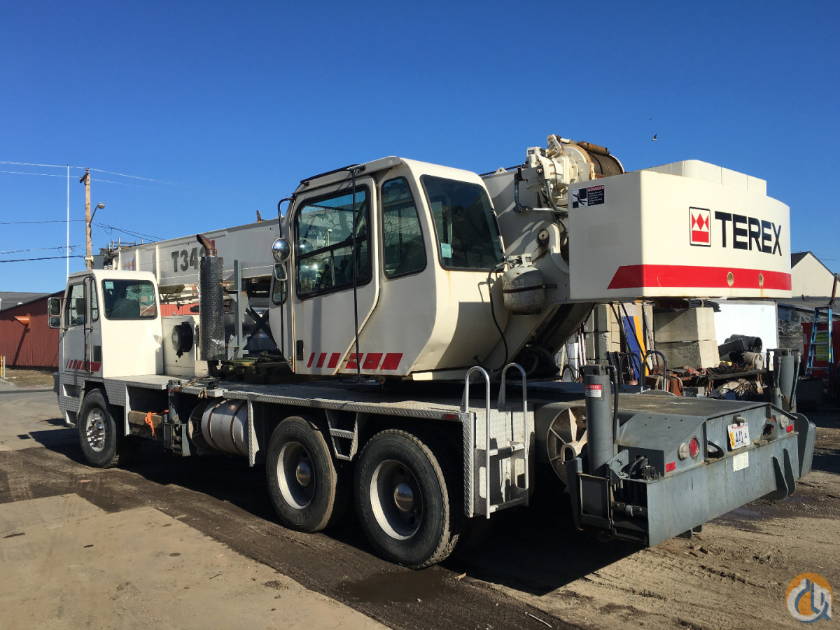 2003 TEREX T340 Crane for Sale on CraneNetwork.com