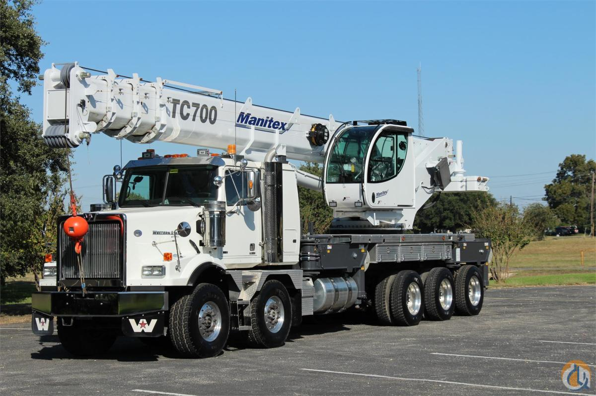 2015 MANITEX TC700 Crane for Sale in Bridgeview Illinois on CraneNetworkcom