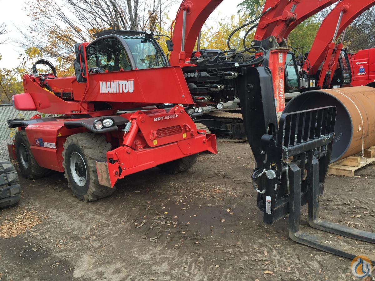 2014 MANITOU MRT2540 Crane for Sale in Bloomington Minnesota on CraneNetwork.com