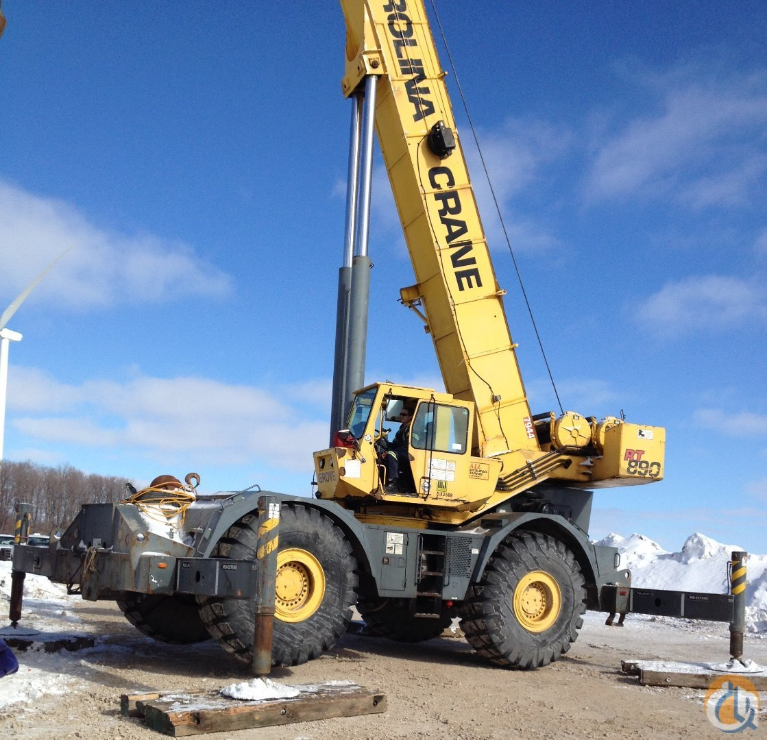 Grove RT890 For Sale Crane for Sale in Mississauga Ontario on CraneNetwork.com