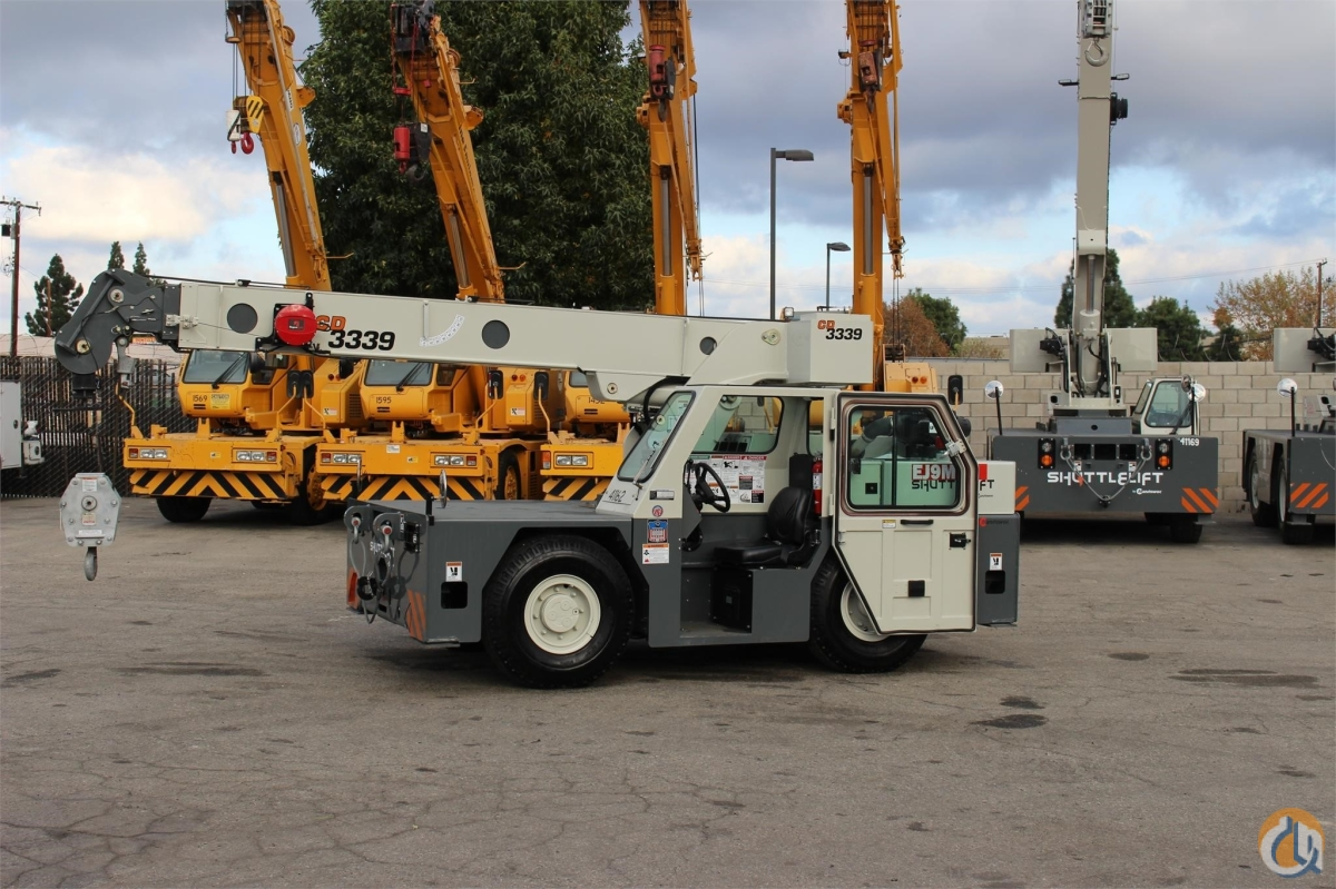 2014 SHUTTLELIFT CD3339 Crane for Sale or Rent in Santa Ana California on CraneNetwork.com