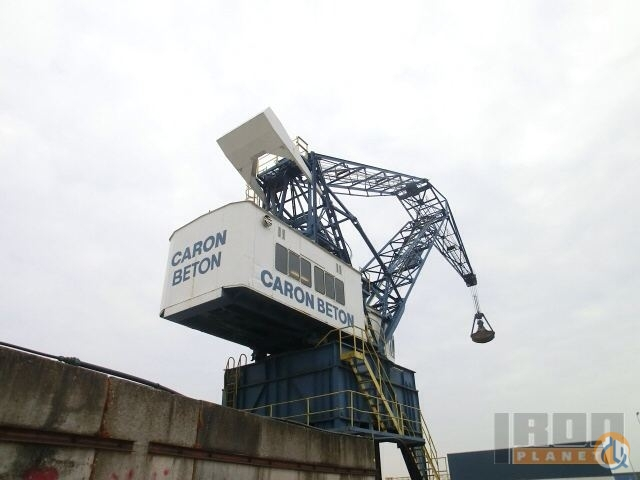Sold 1961 Mohr Dubbelarmkraan Dockside Crane Crane for  on CraneNetworkcom