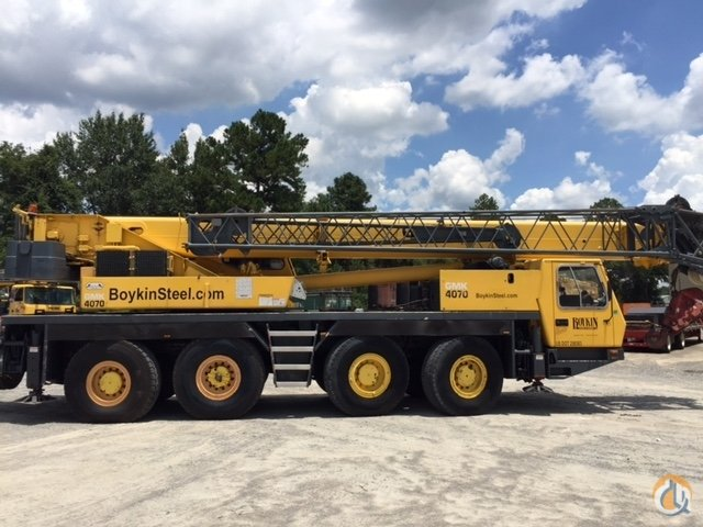 1999 Grove GMK4070-1 Crane for Sale in Jesup Georgia on CraneNetwork.com